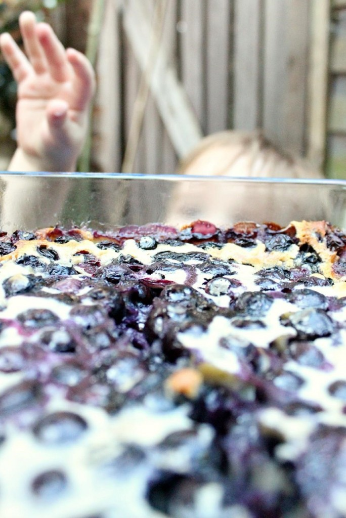Blueberry and Earl Grey clafoutis 3