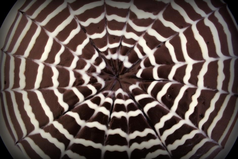 Spider web cake 2