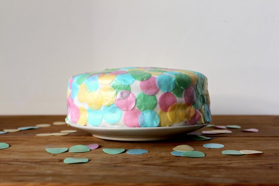 Confetti cake 1