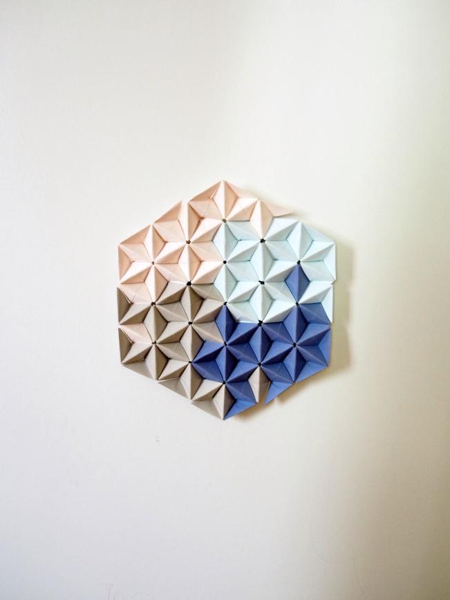 Rosace de plafond en papier