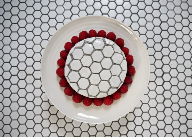 My mosaic tile cake 5