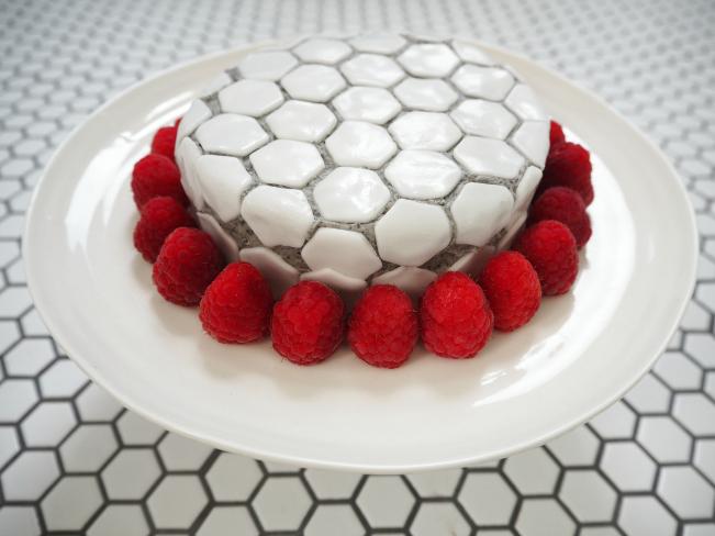 My mosaic tile cake 6